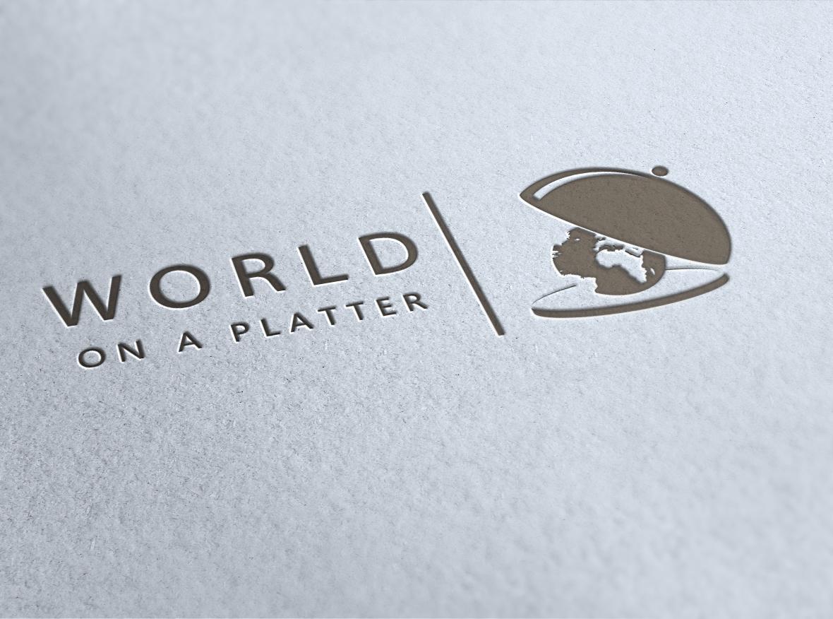 World on a platter